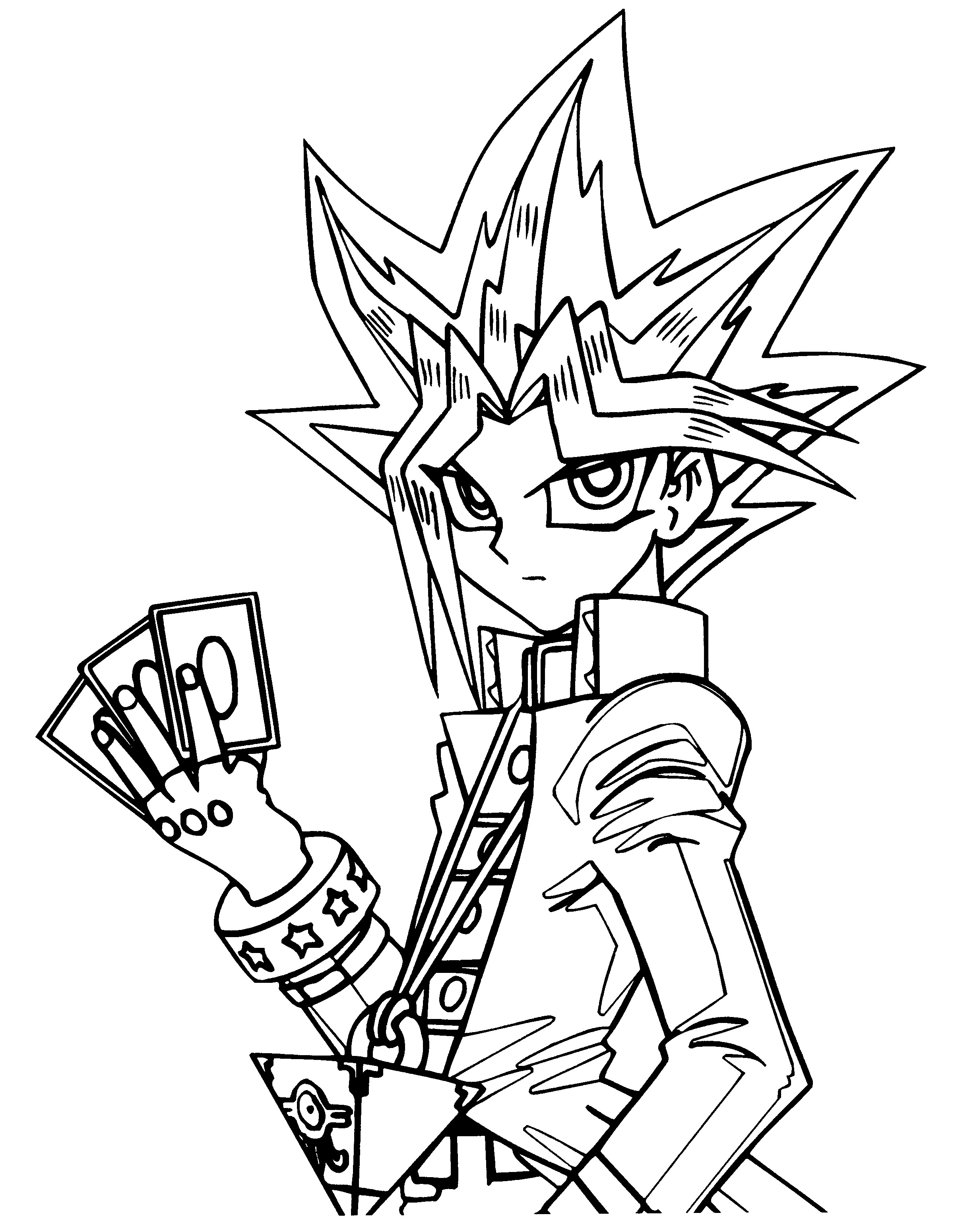 Printable Yugioh Coloring Pages Coloring Me Yu Gi Oh Coloring Pages