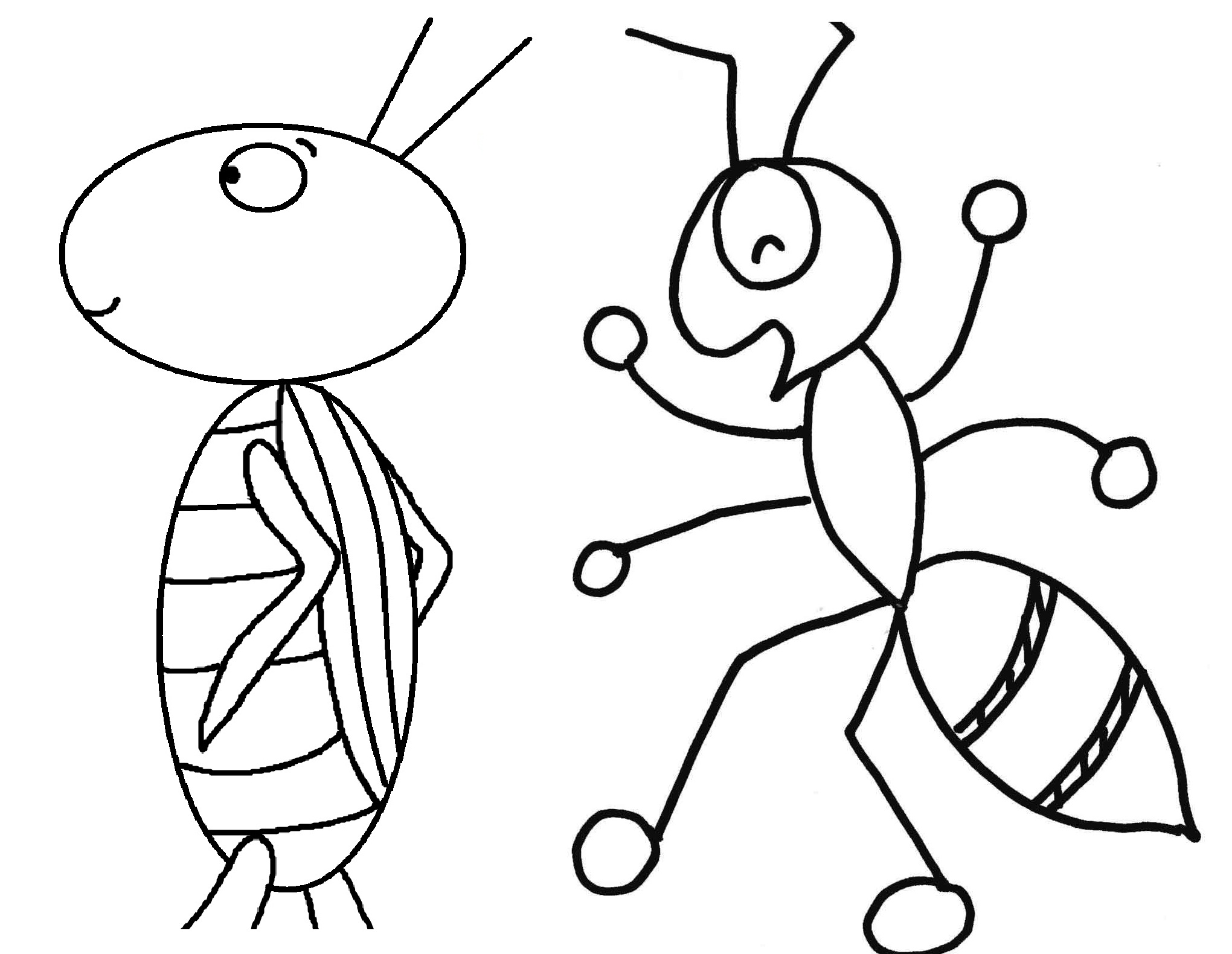 Uncategorized Ants Coloring Pages printable ant coloring pages me for preschoolers