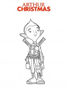 Arthur Christmas Coloring Pages
