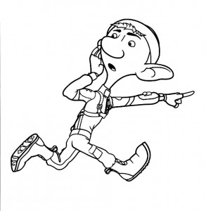 Arthur Free Coloring Page