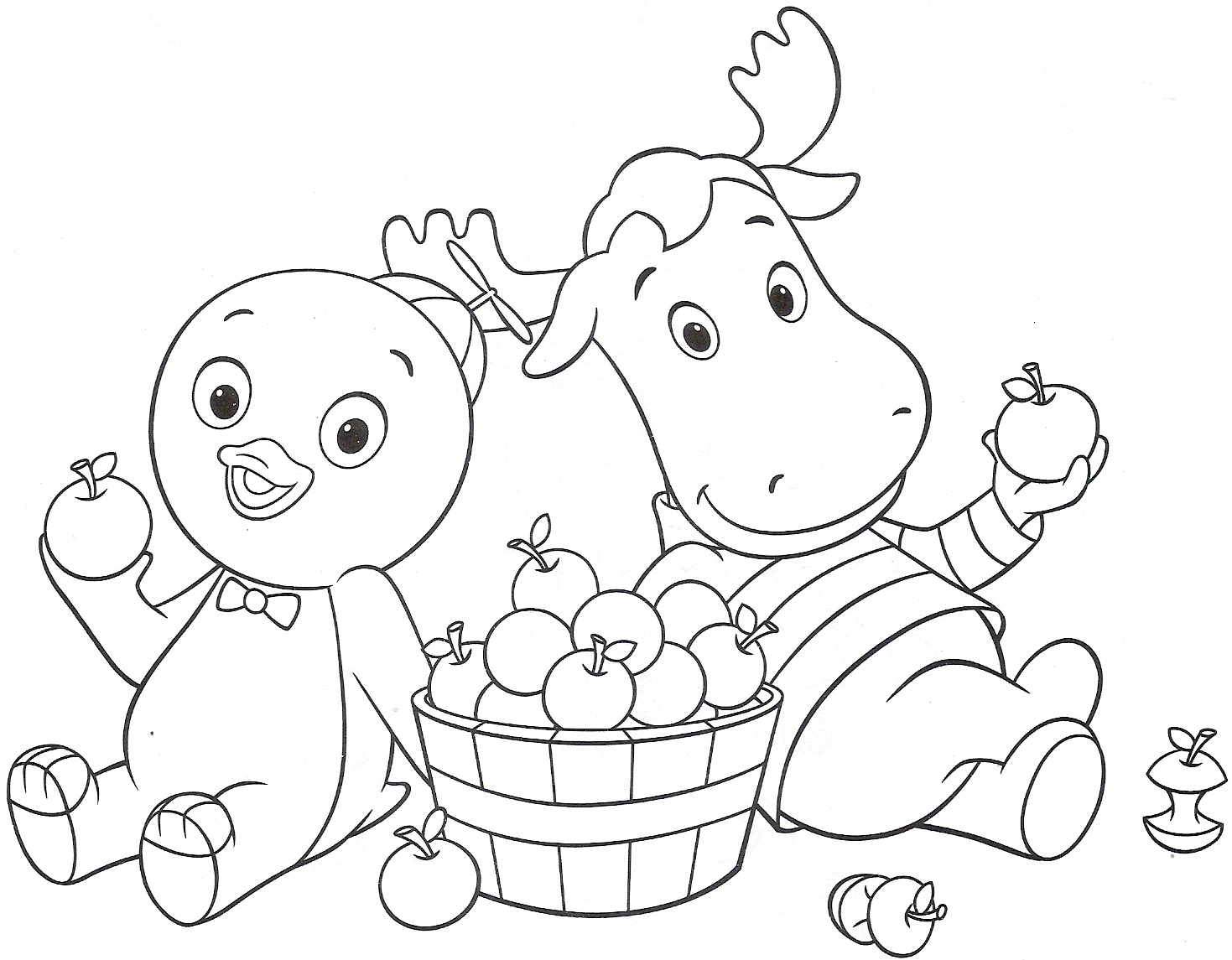 backyardigans coloring pages austin - photo#23