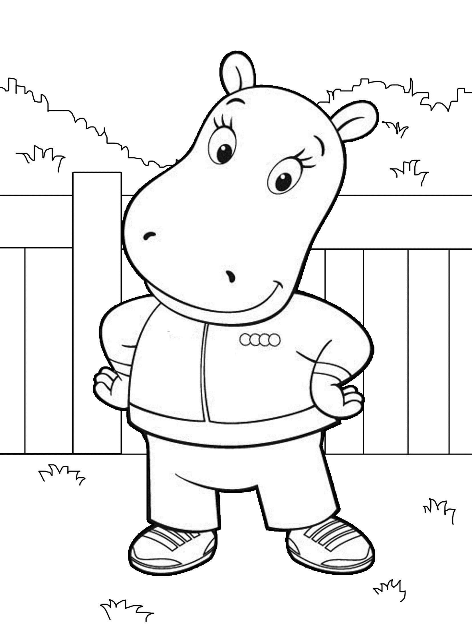 Backyardigans colouring pages free murderthestout for Free backyardigans coloring pages
