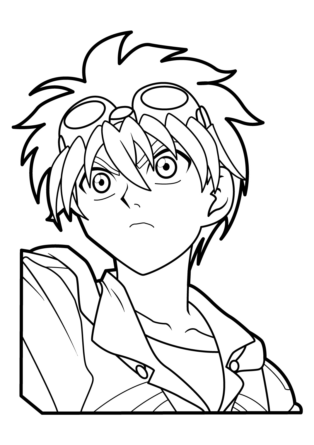 Bakugan coloring pages murderthestout for Bakugan coloring book pages
