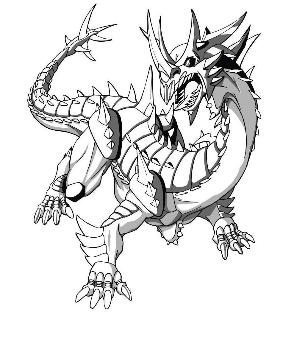 Printable Bakugan Coloring Pages Coloringme Com