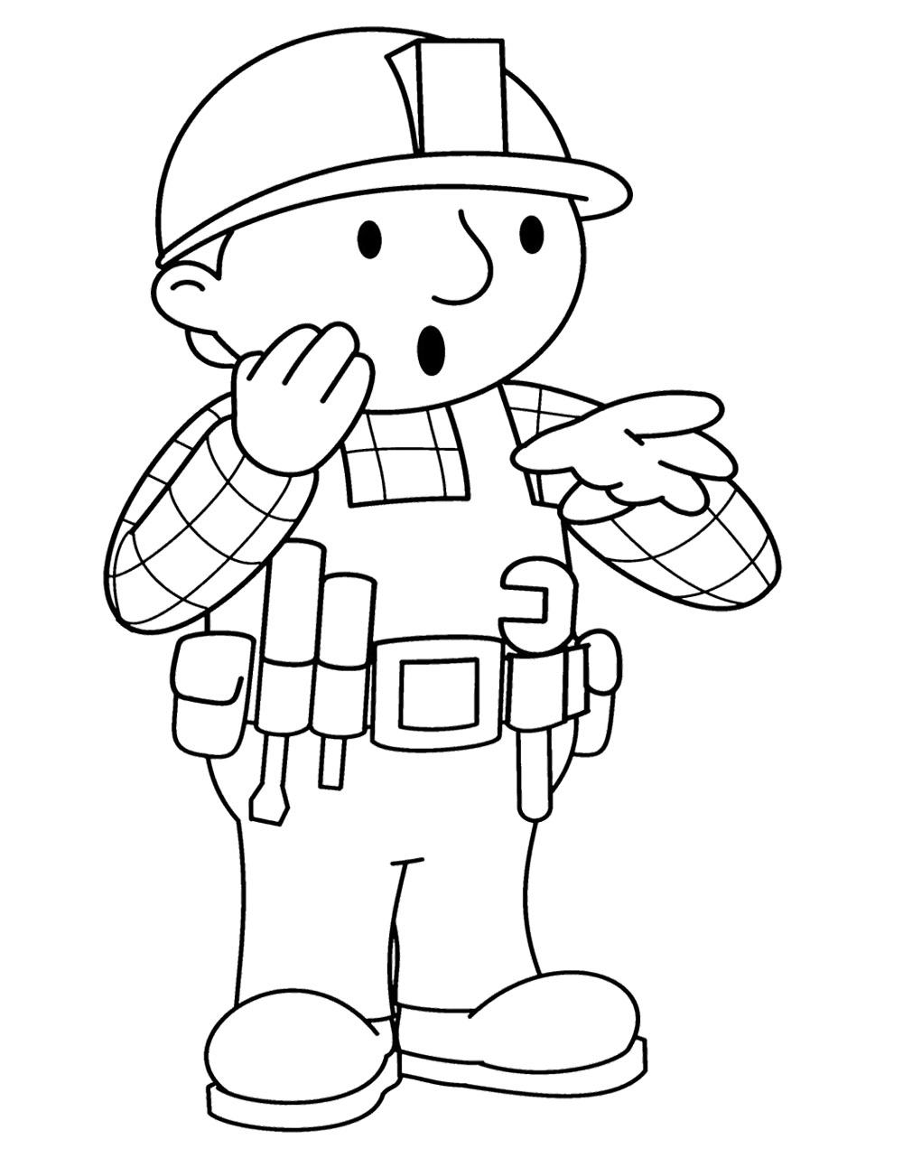 The Best 100+ Bob The Builder Coloring Pages Image Collections (www ...