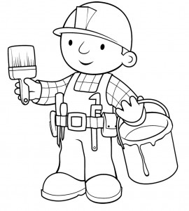 Bob the Builder Coloring Pages Free Download
