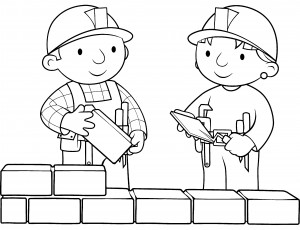 Bob the Builder Coloring Pages Printable