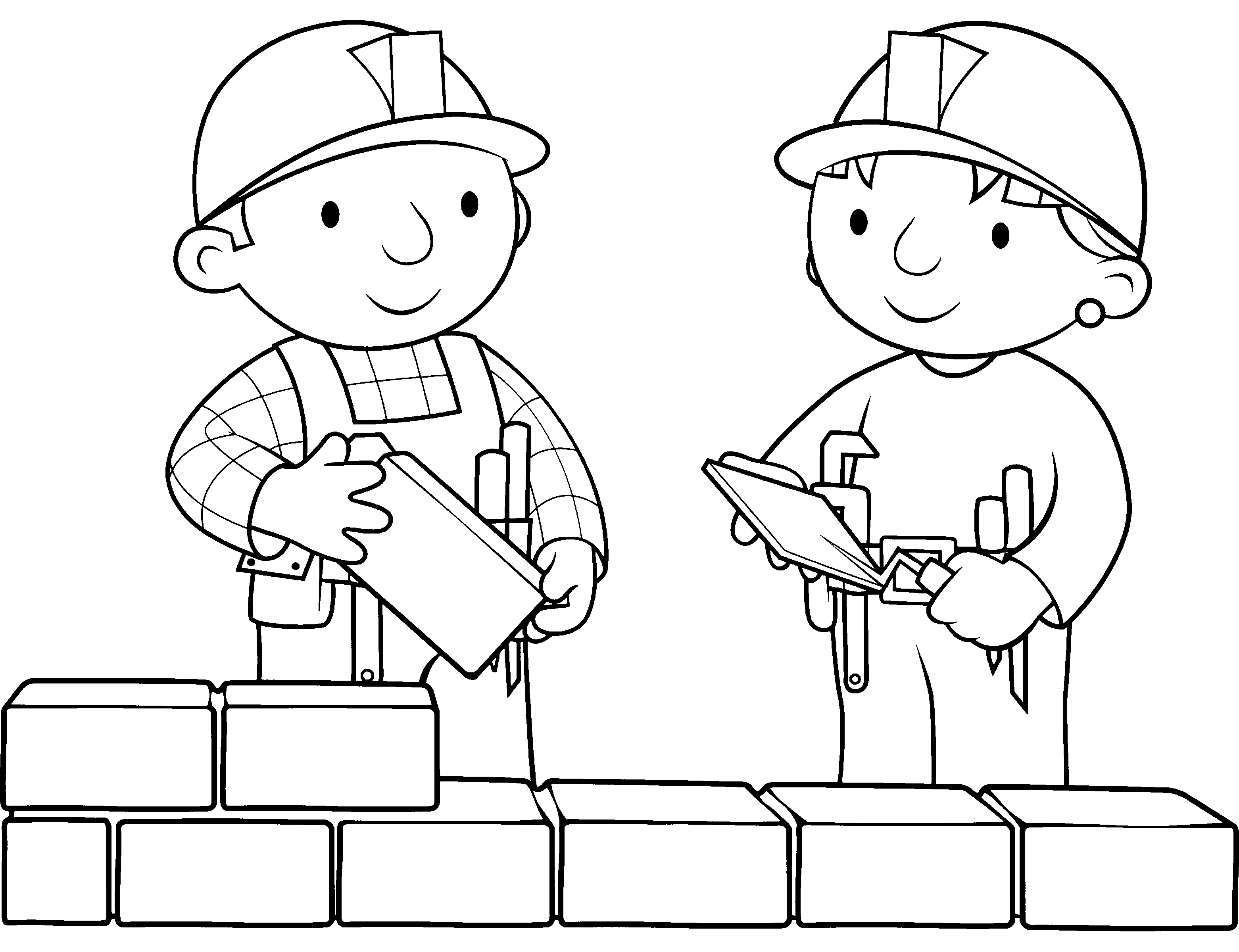 Printable Bob the Builder Coloring Pages Coloring Me