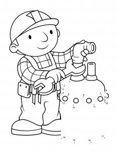 Bob the Builder Coloring Sheets