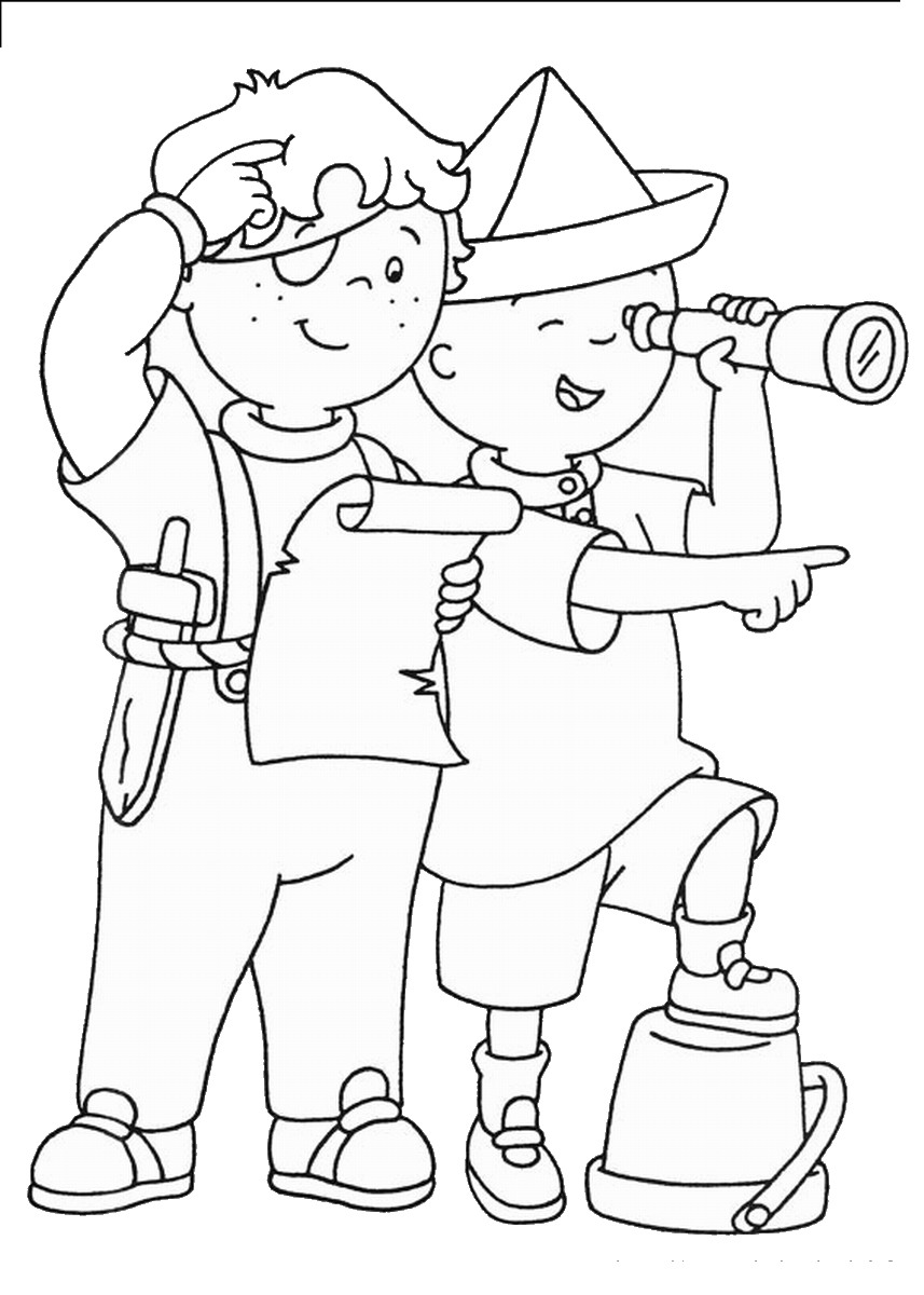 Printable Caillou Coloring Pages Coloring Me Caillou Coloring Pages Printable
