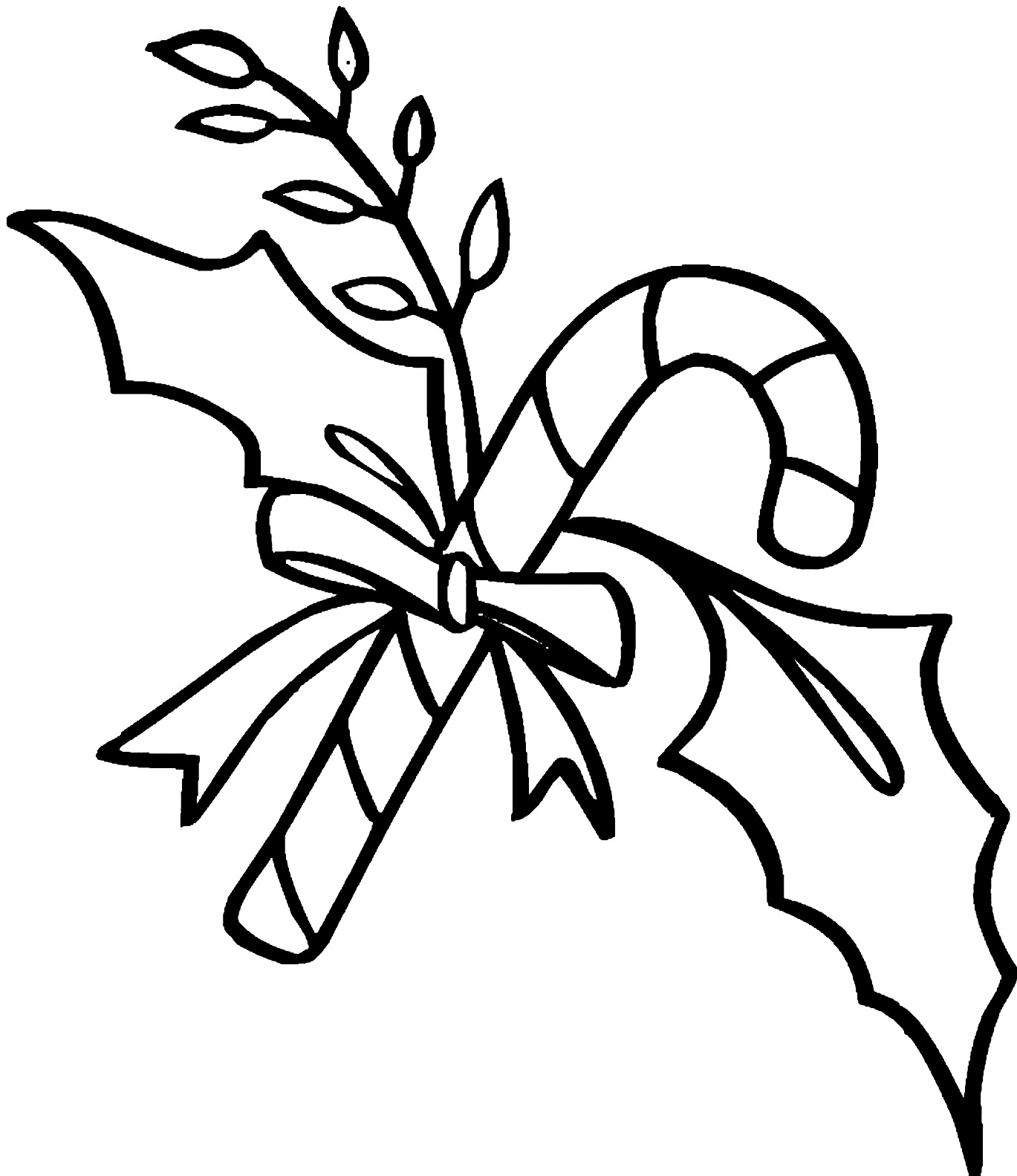 Peppermint Candy Coloring Pages