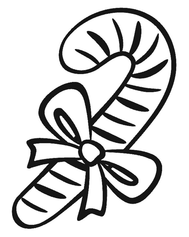 candy cane coloring sheets printable
