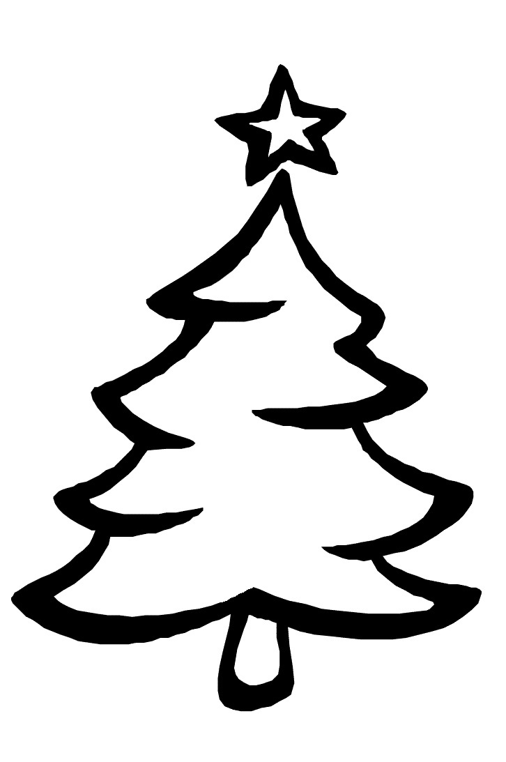 Uncategorized Christmas Trees Coloring Pages printable christmas tree coloring pages me pages