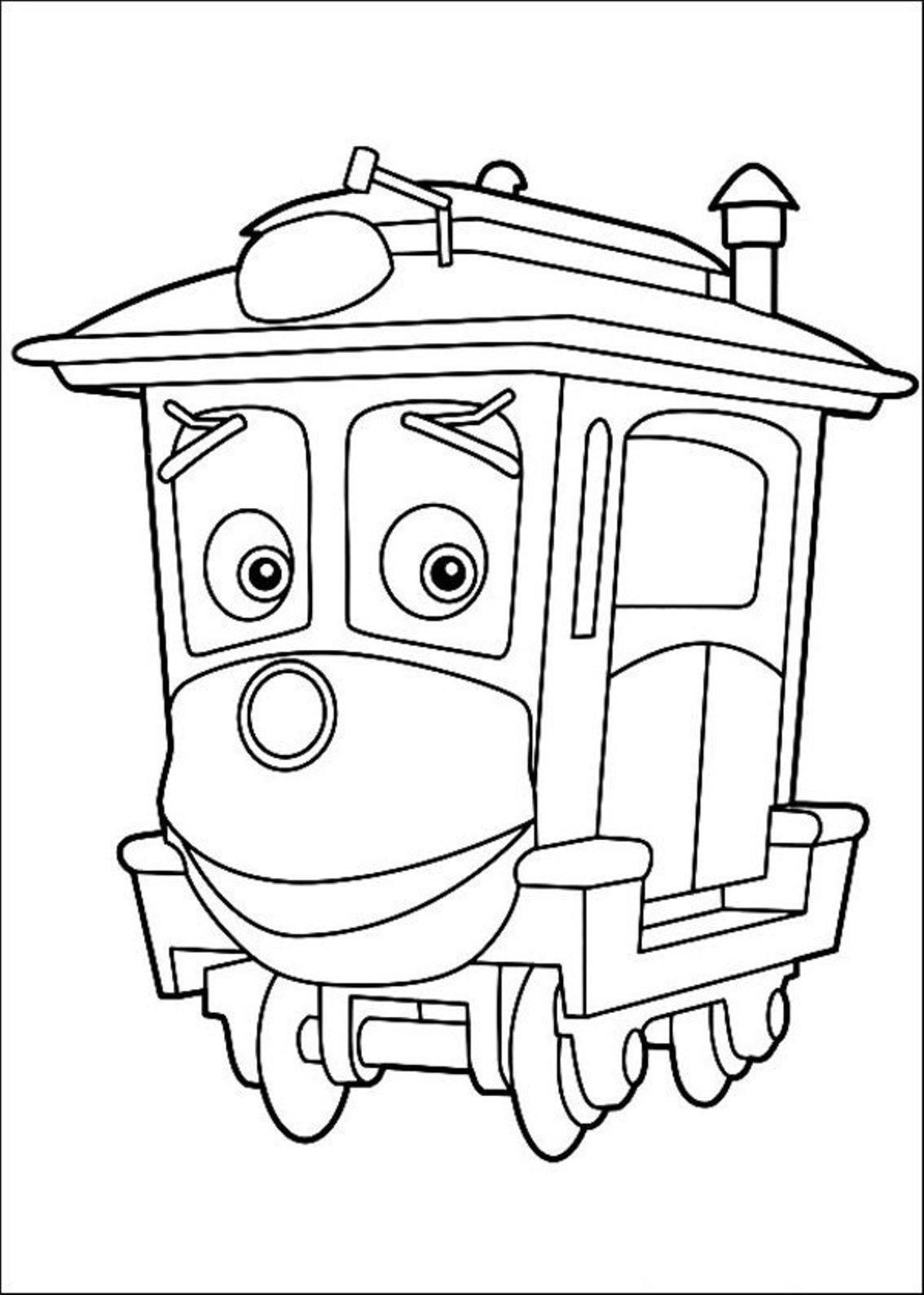 Chuggington Harrison Coloring Page | Coloring Pages