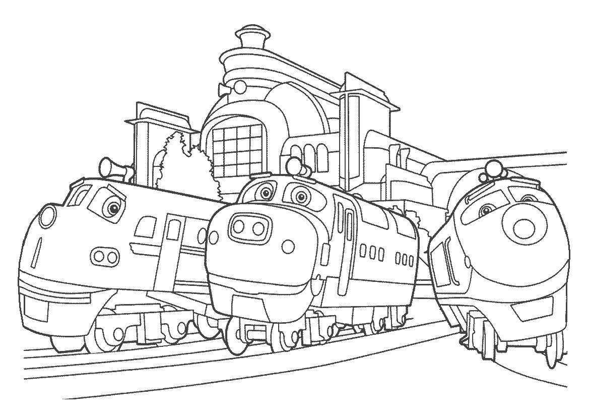 Printable Chuggington Coloring Pages | Coloring Me