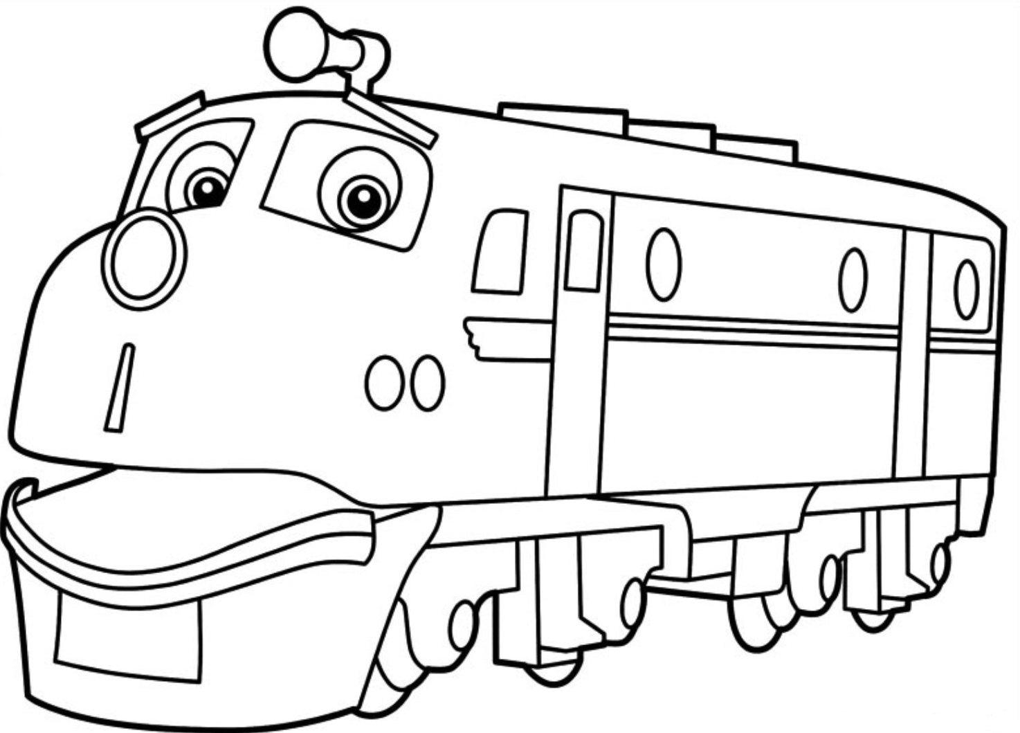Printable Chuggington Coloring Pages Coloring Me Chuggington Colouring Pages