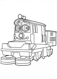 Chuggington Train Coloring Pages
