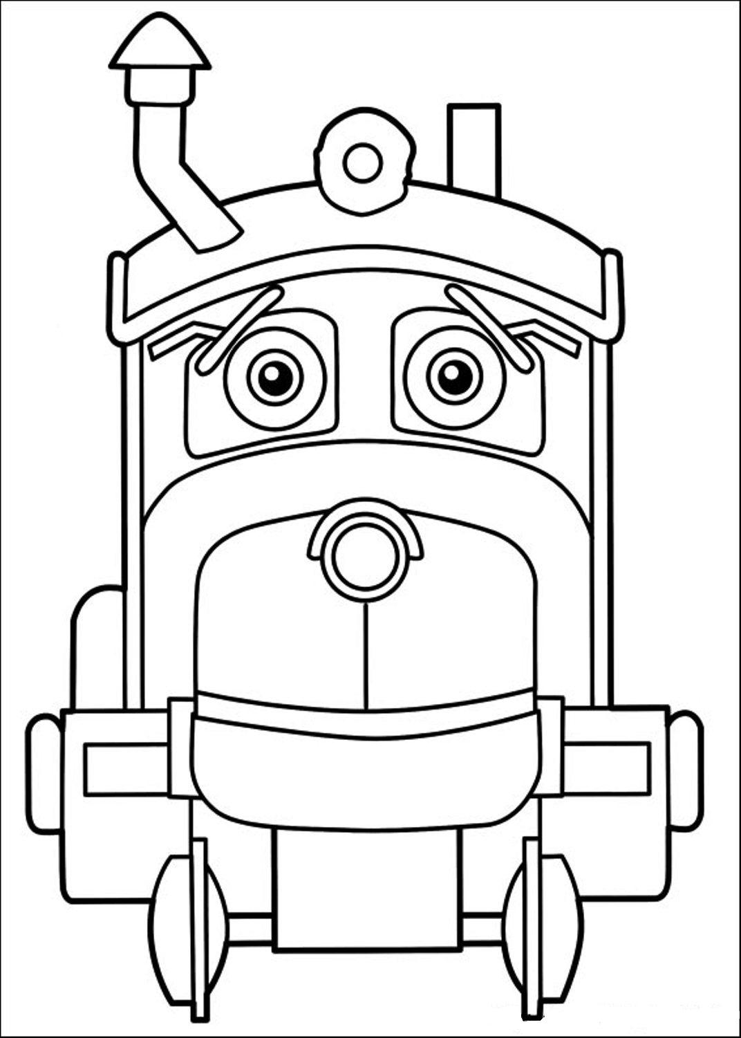 chuggington wilson coloring page