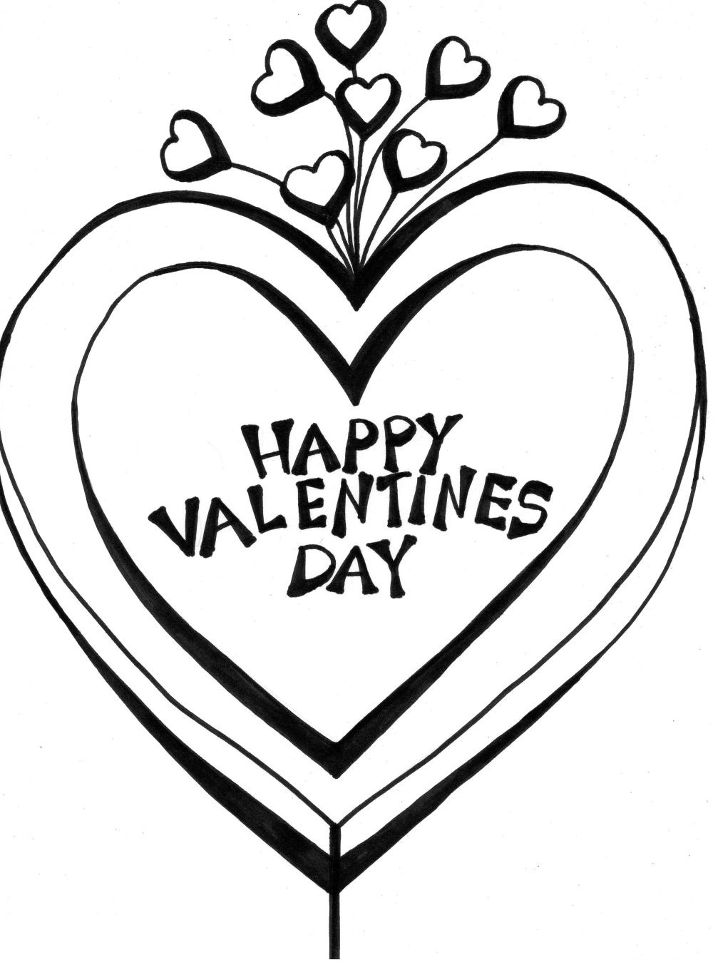 Printable Valentine Coloring Pages | Coloring Me