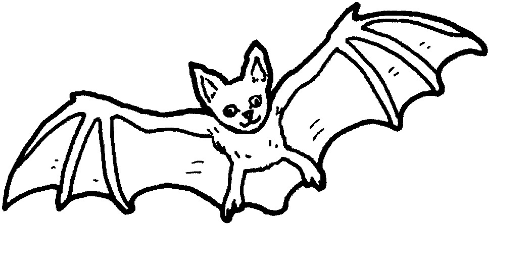 Free coloring pages of baby bat for Printable bat coloring pages