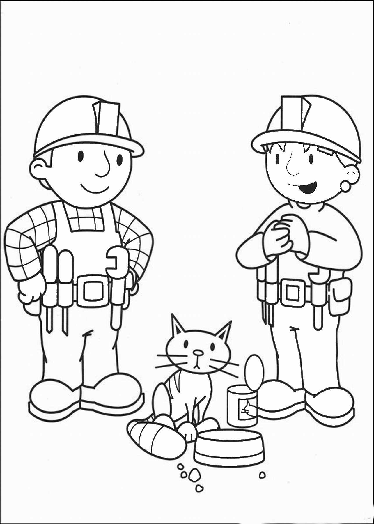 builders coloring pages - photo#22