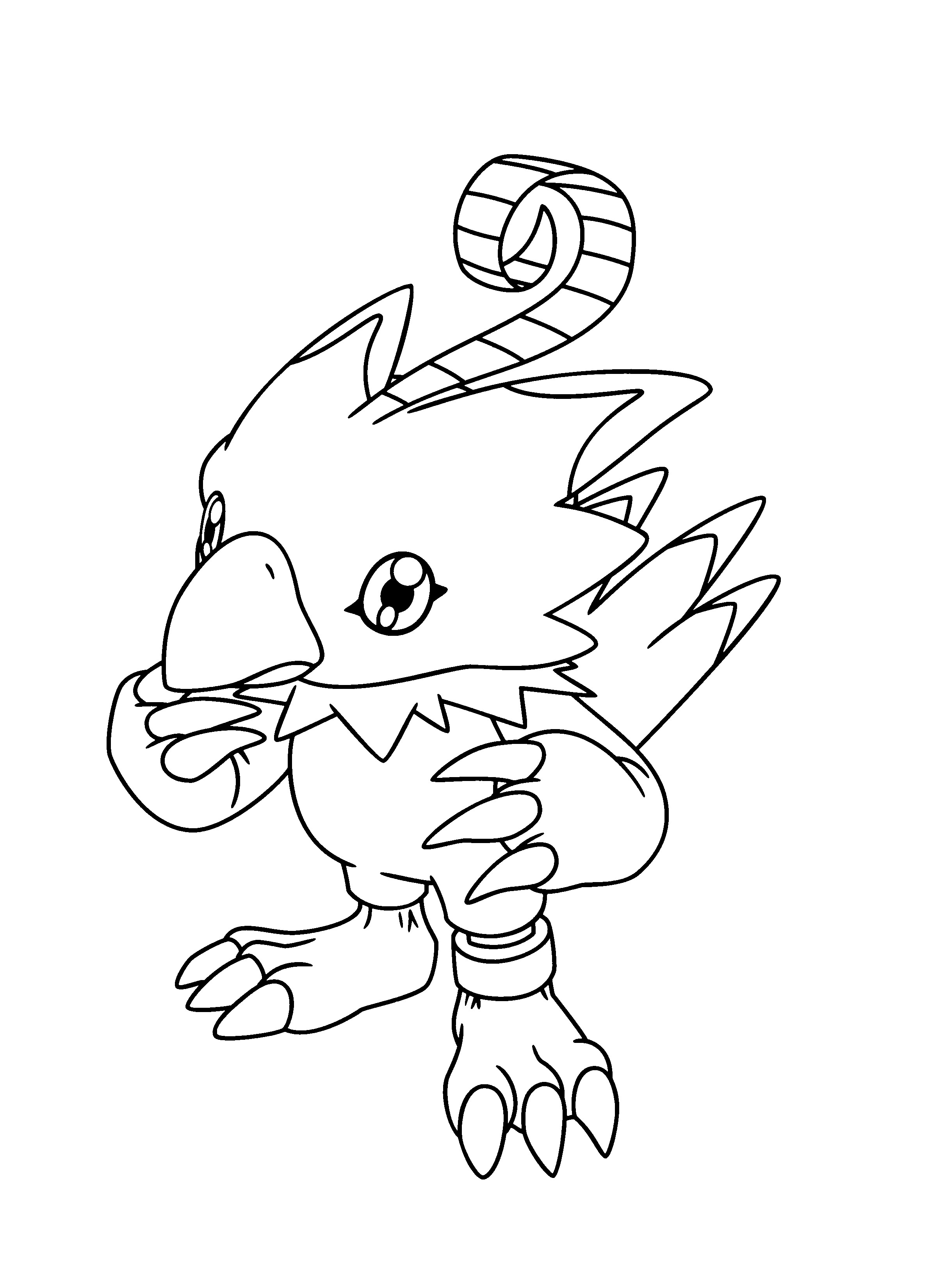 Uncategorized Digimon Coloring Page printable digimon coloring pages me pages