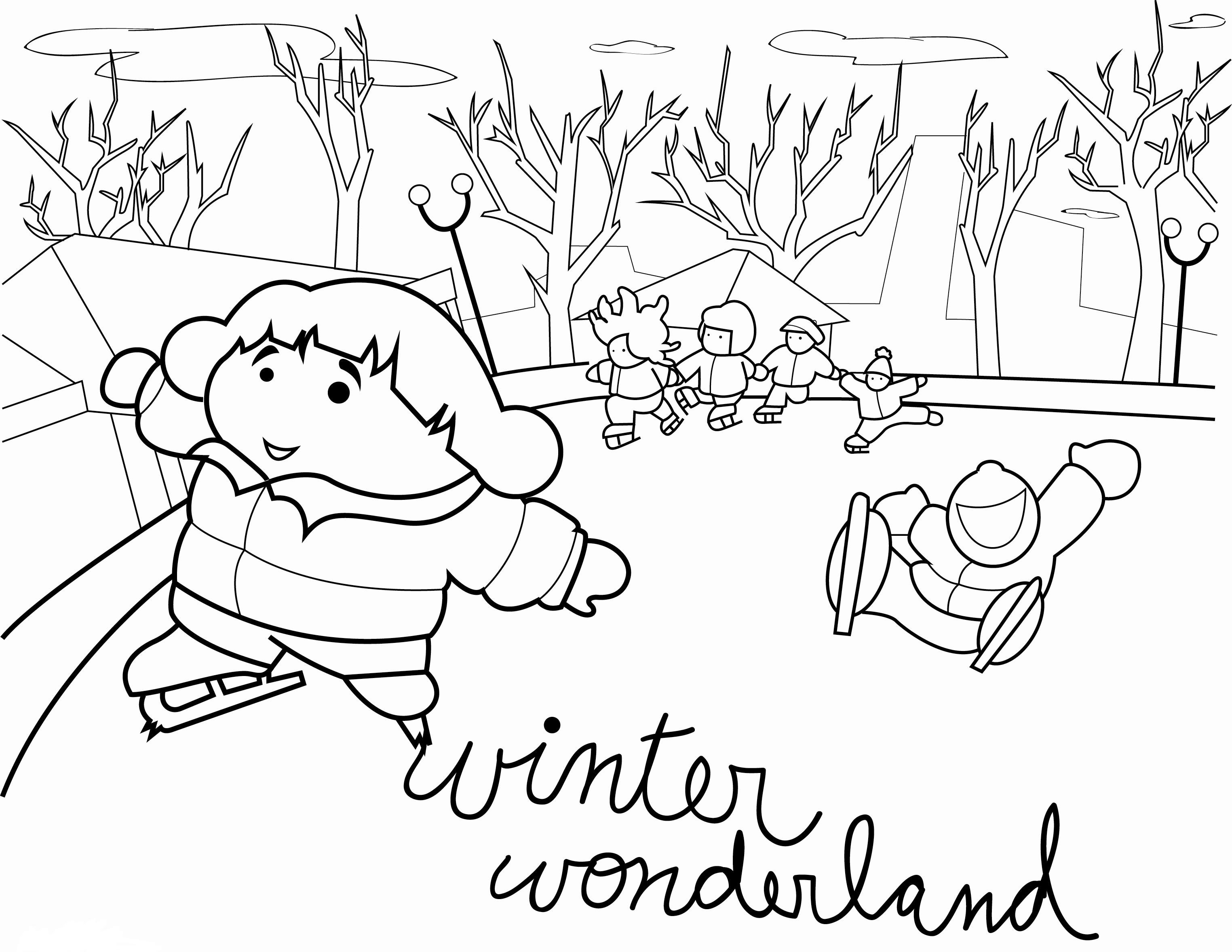 Printable Winter Coloring Pages | Coloring Me