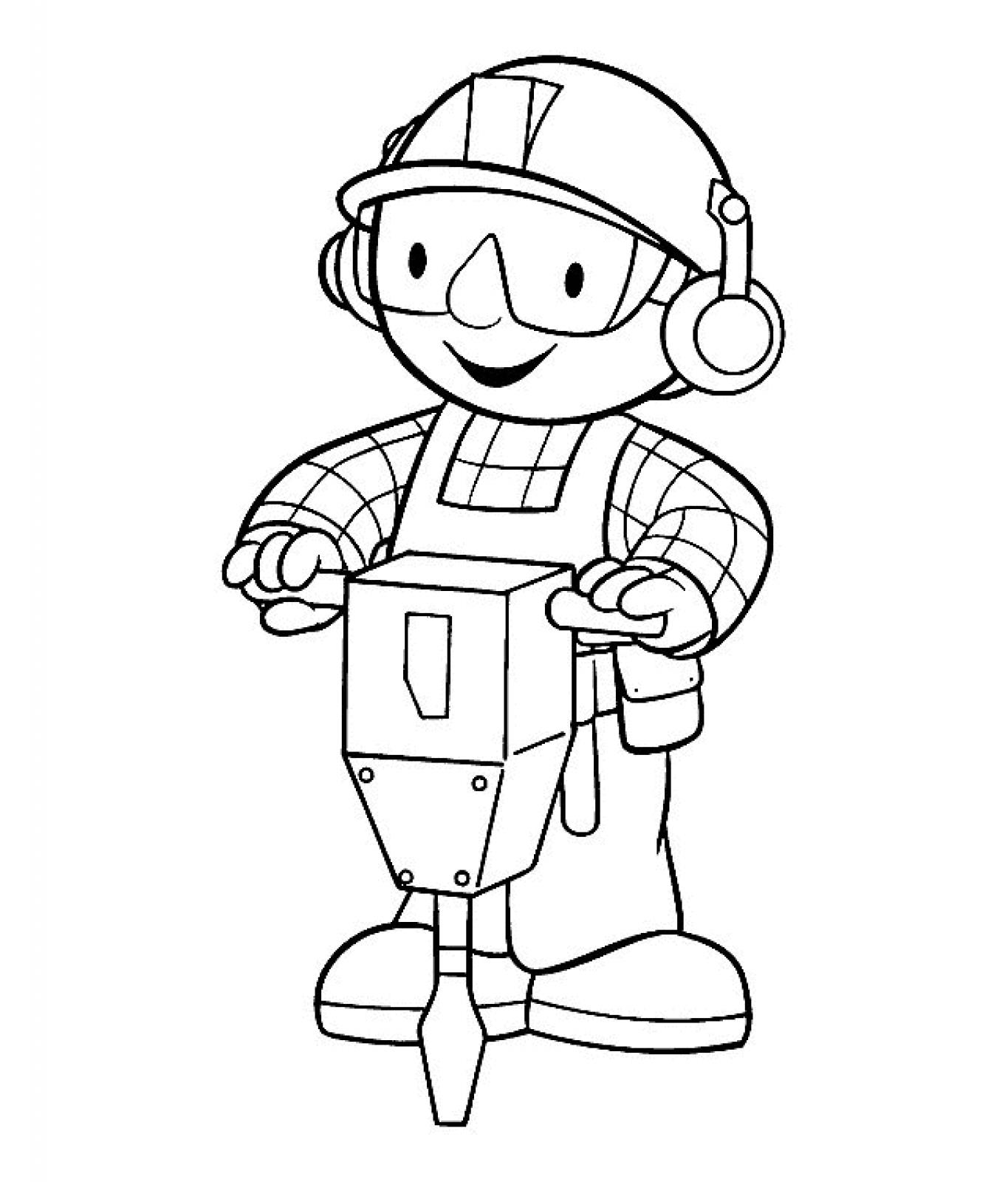 Printable Bob the Builder Coloring Pages   ColoringMe.com