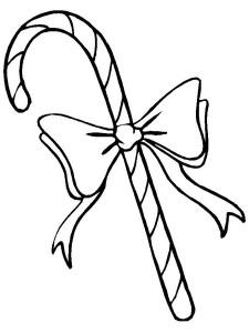 Free Printable Candy Cane Coloring Sheets