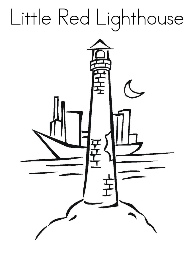 Colouring Sheet Lighthouse : Printable lighthouse coloring pages me