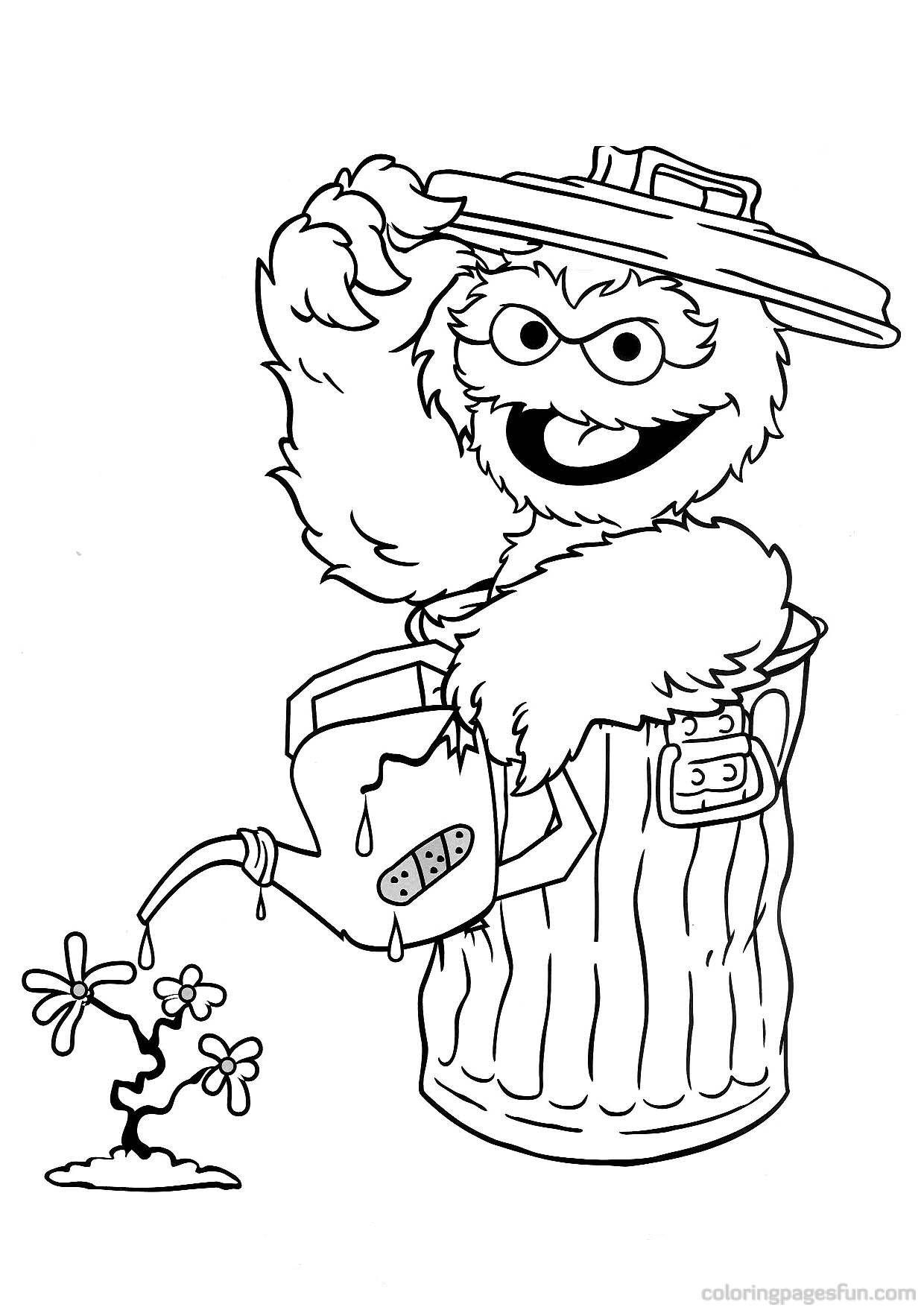 sesame street coloring book | Coloring Page