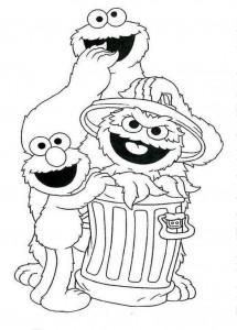 Free Sesame Street Coloring Printables