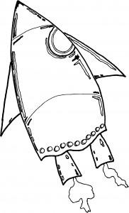 Free Spaceship Coloring Sheets
