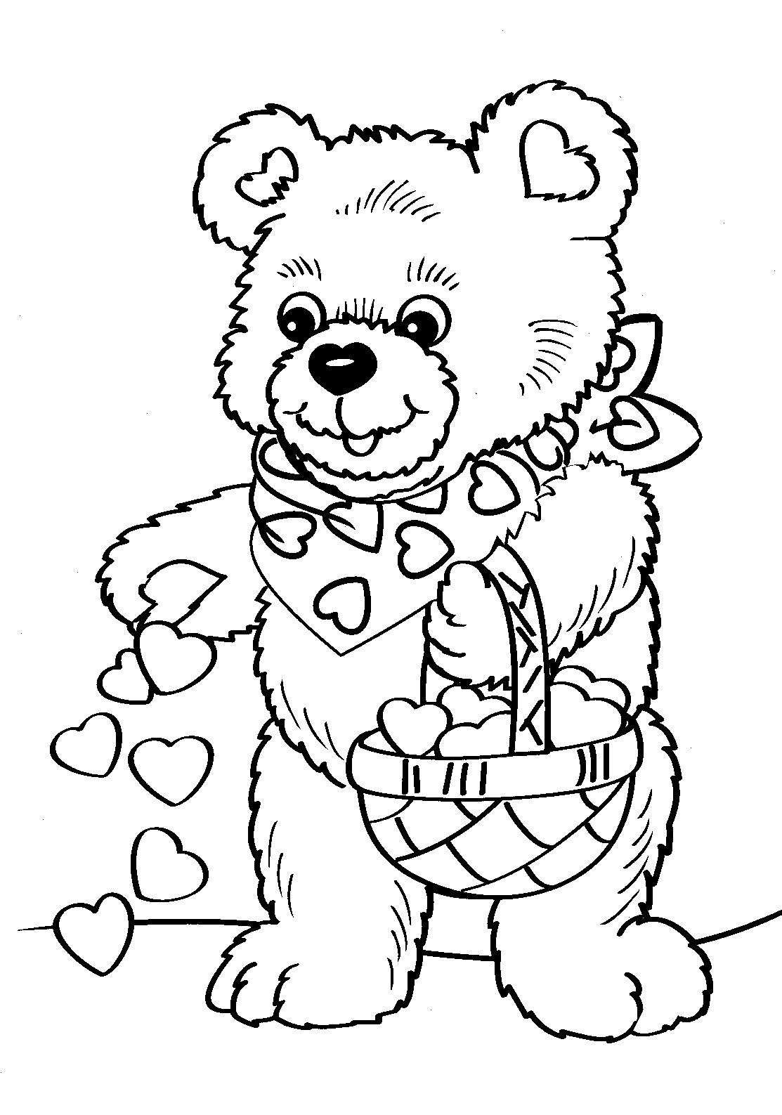 valentine coloring pages printables - photo #13