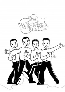 Free Wiggles Coloring Pages Print