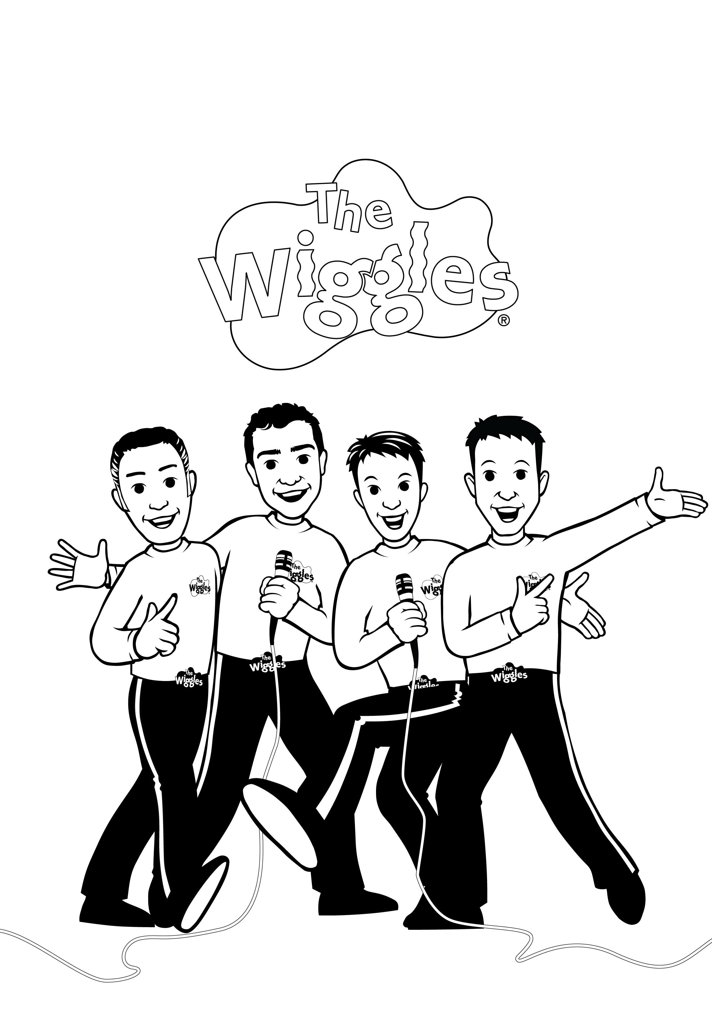 The Wiggles Coloring Book