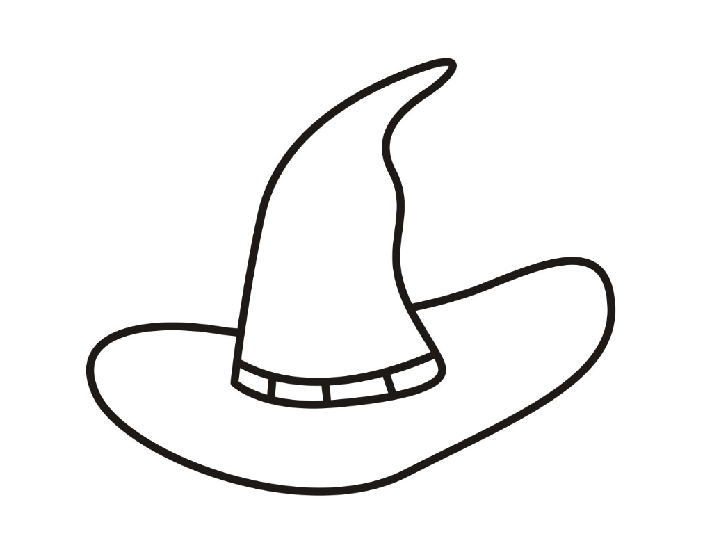 Witch Coloring Pages on scary cat printables