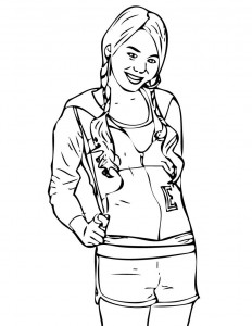 Hannah Montana Coloring Pages to Print
