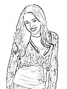 Hannah Montana Coloring Sheets Free