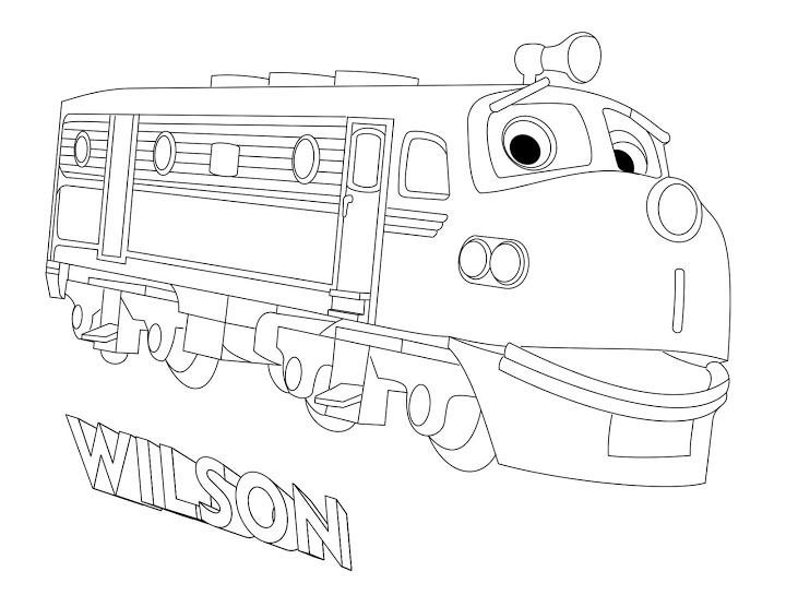 harrison chuggington coloring page