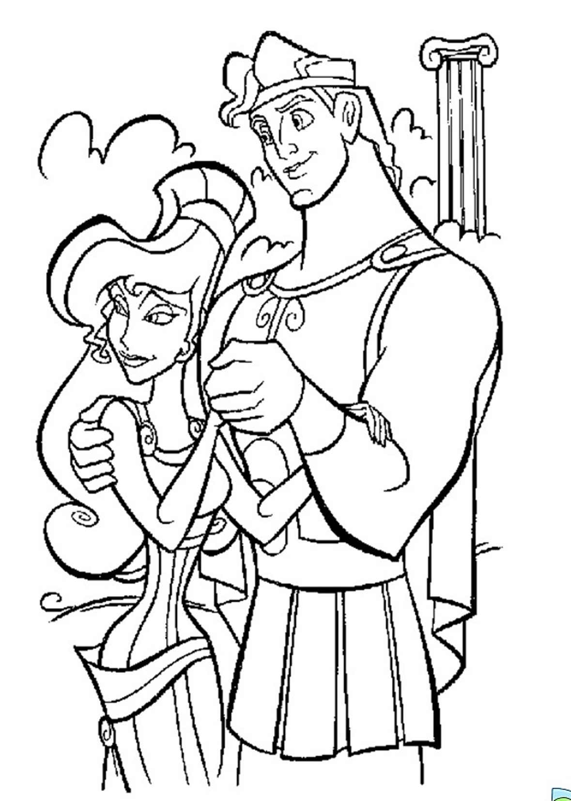 Printable Hercules Coloring Pages Coloring Me Hercules Coloring Pages