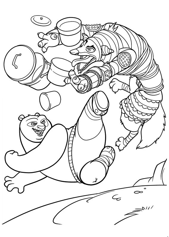 dung fu panda coloring pages - photo#27