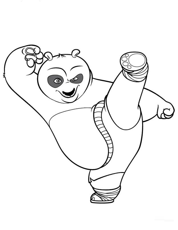 kung fu panda coloring page - kung fu panda coloring pages printables coloring pages