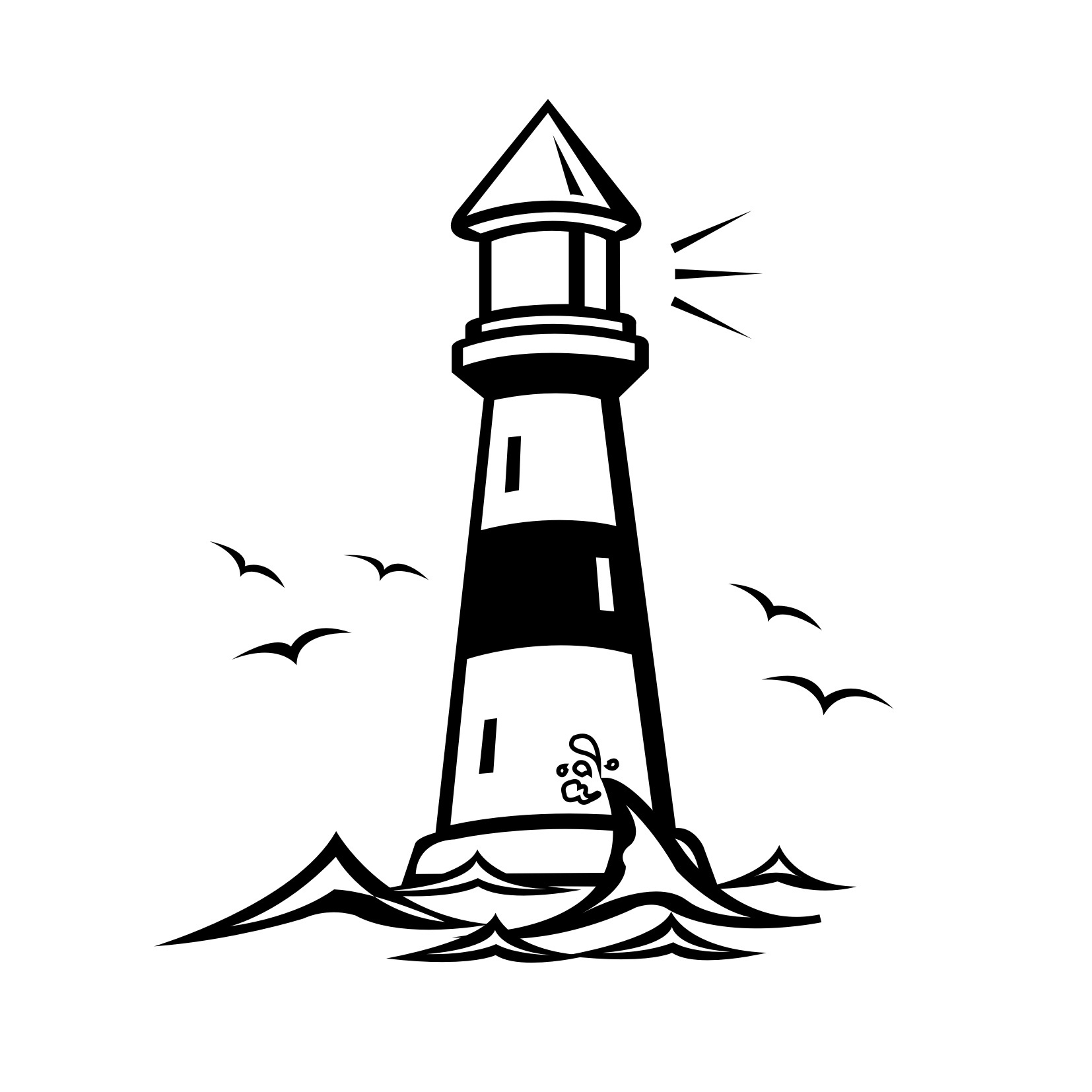 Printable Lighthouse Coloring Pages | ColoringMe.com