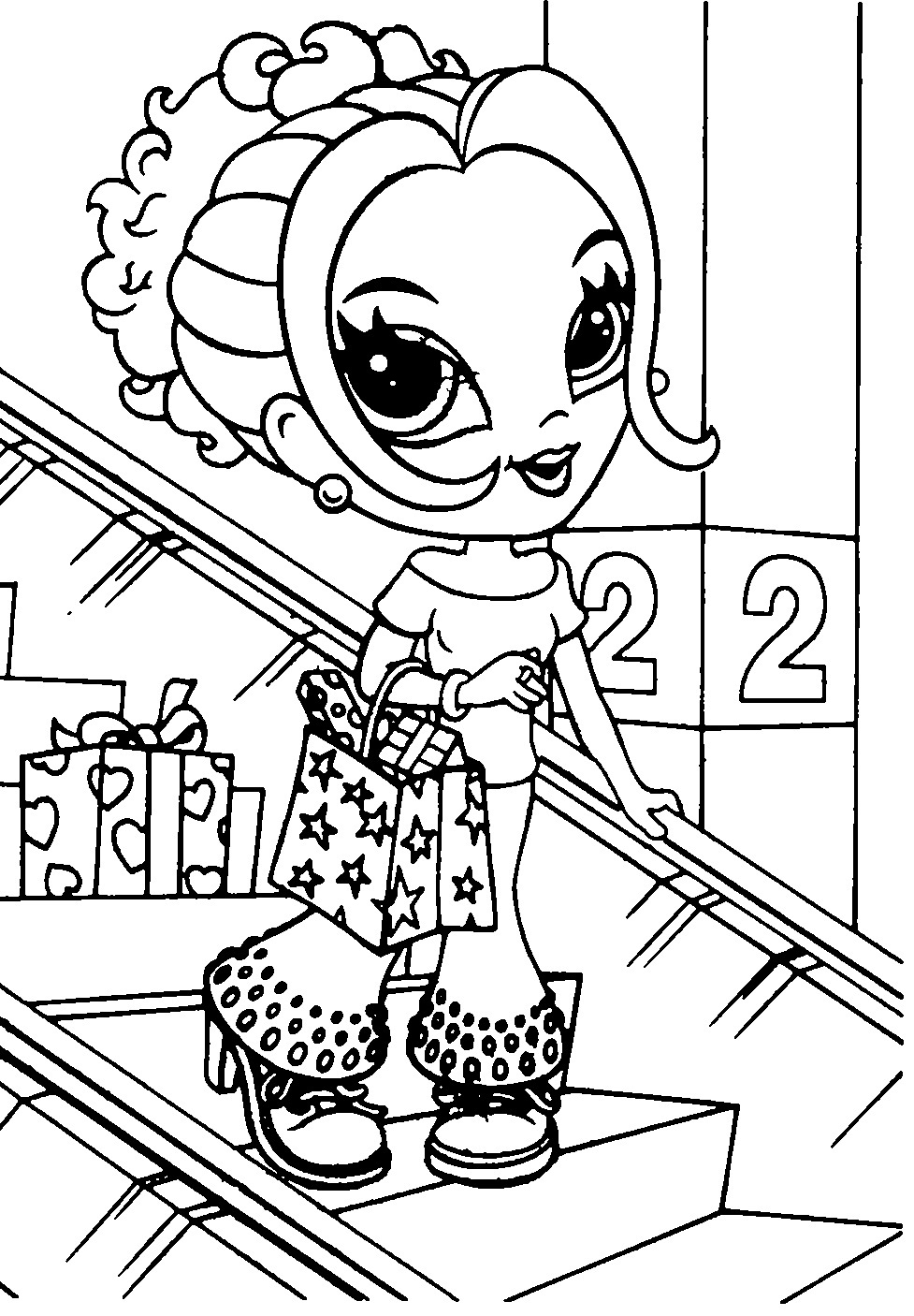 Lisa Frank Pictures To Color 109