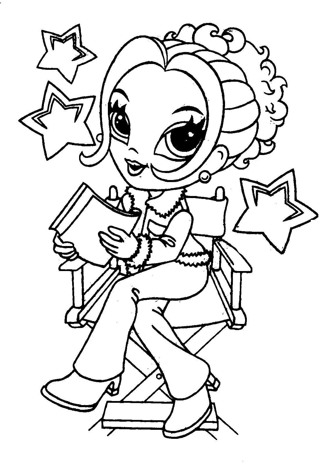 lisa frank coloring pages - photo#29