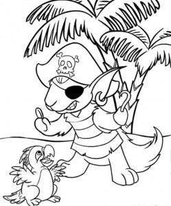 Neopet Coloring Pages Free