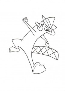 Perry the Platypus Coloring Pages to Print