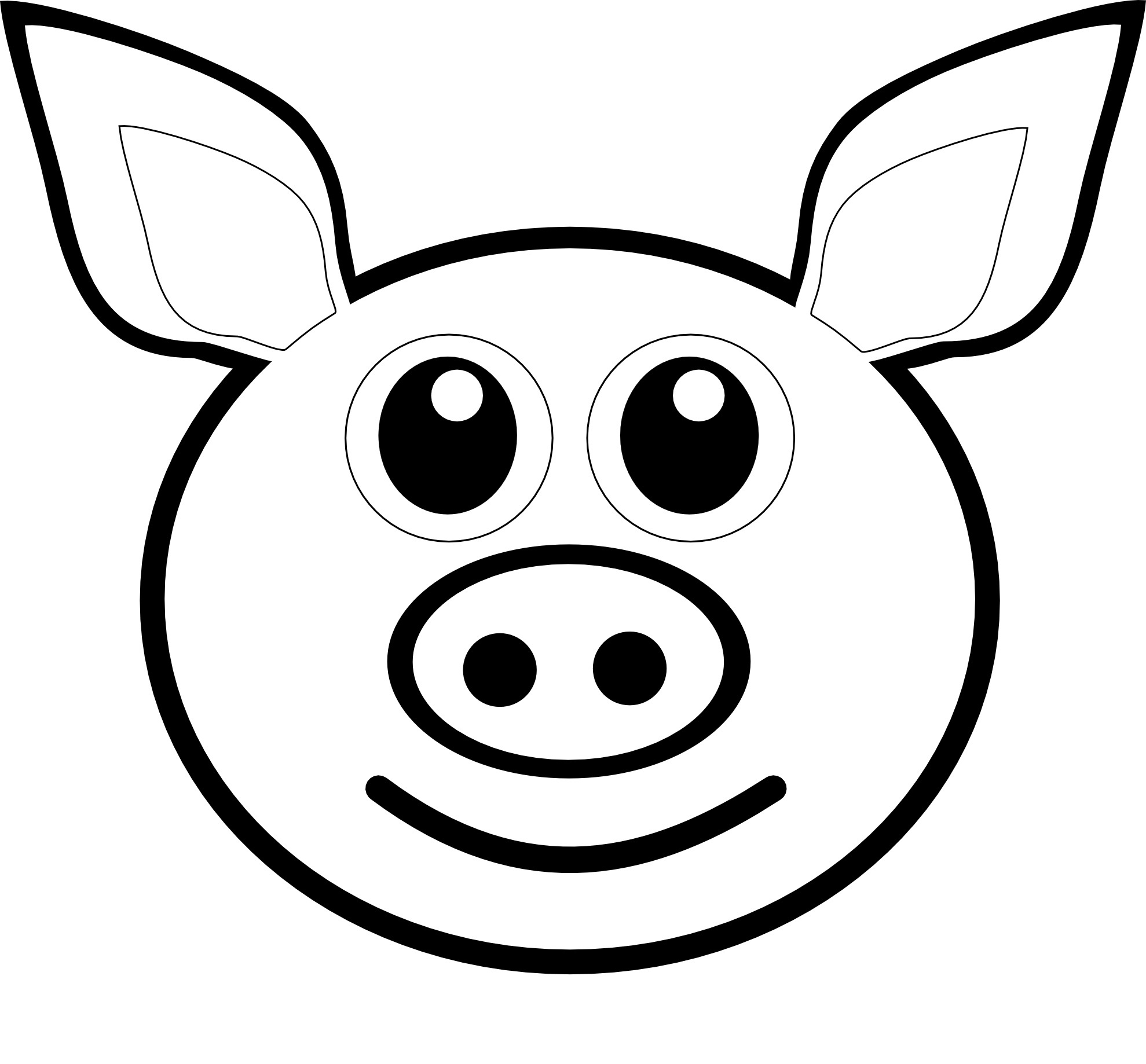 Adult Best Coloring Pages Pig Images best carrot coloring pages adults pig face page of gallery images