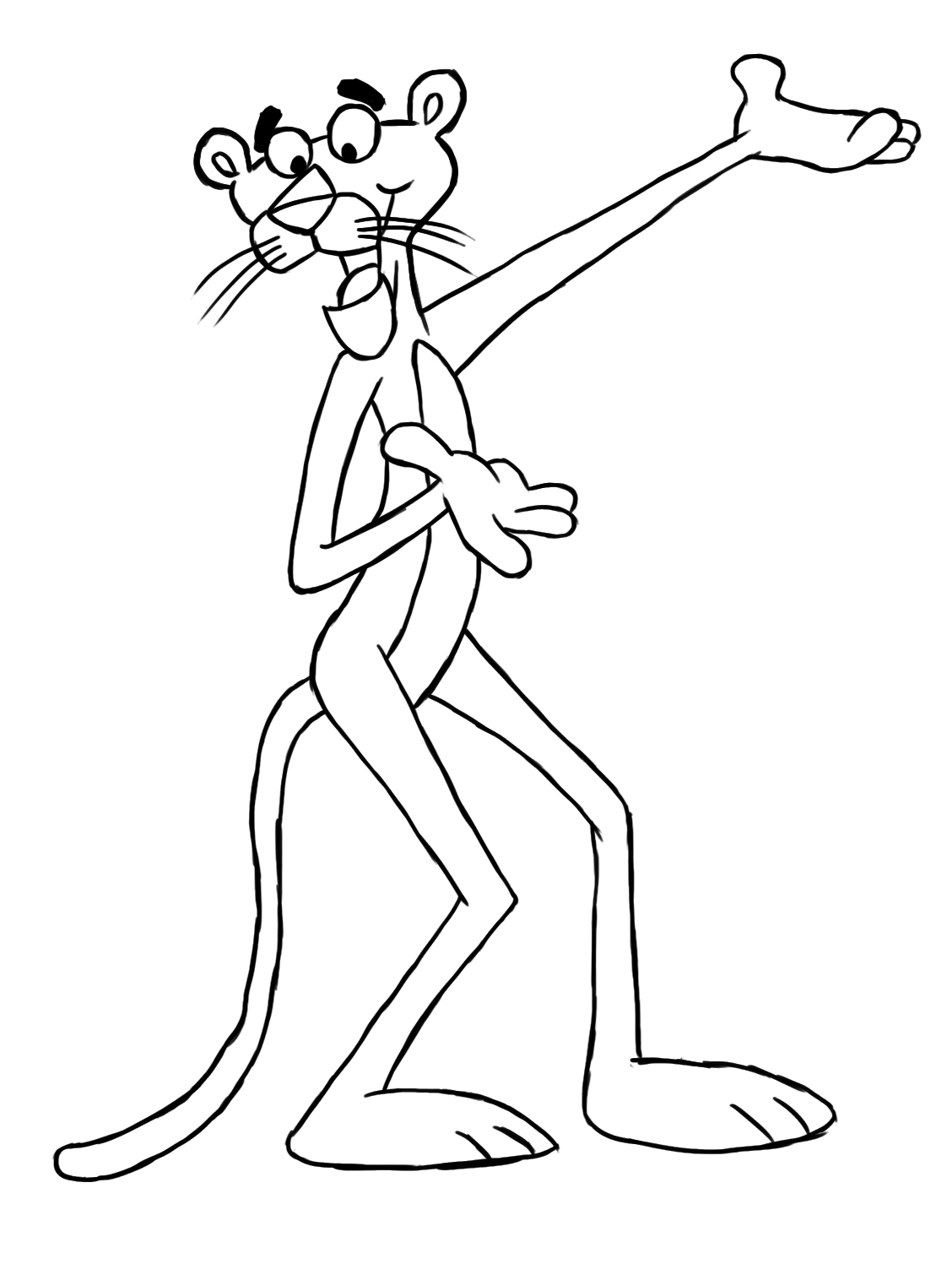 panther coloring pages - photo#27